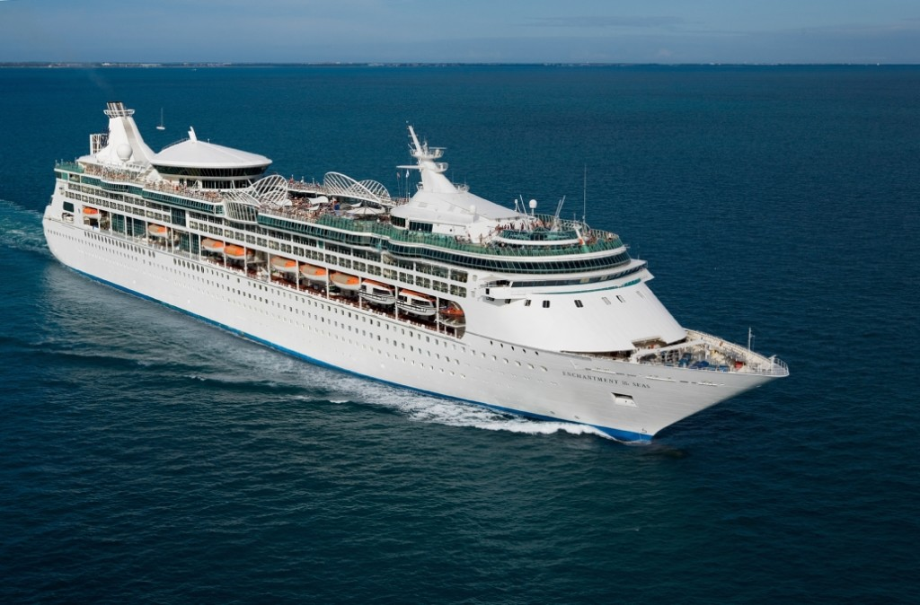 Aerial Enchantment of the Seas - Key WestRoyal Caribbean International