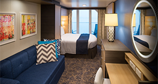 Superior Ocean View Stateroom with Balcony Cat. D4